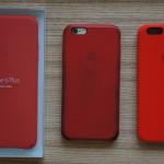 iPhone 6s を買ってもいないのに iPhone 6s用の Apple純正シリコンケース (PRODUCT) RED を買った!6用のレザーケース(PRODUCT) RED はこんなに汚くなったというレポートも。