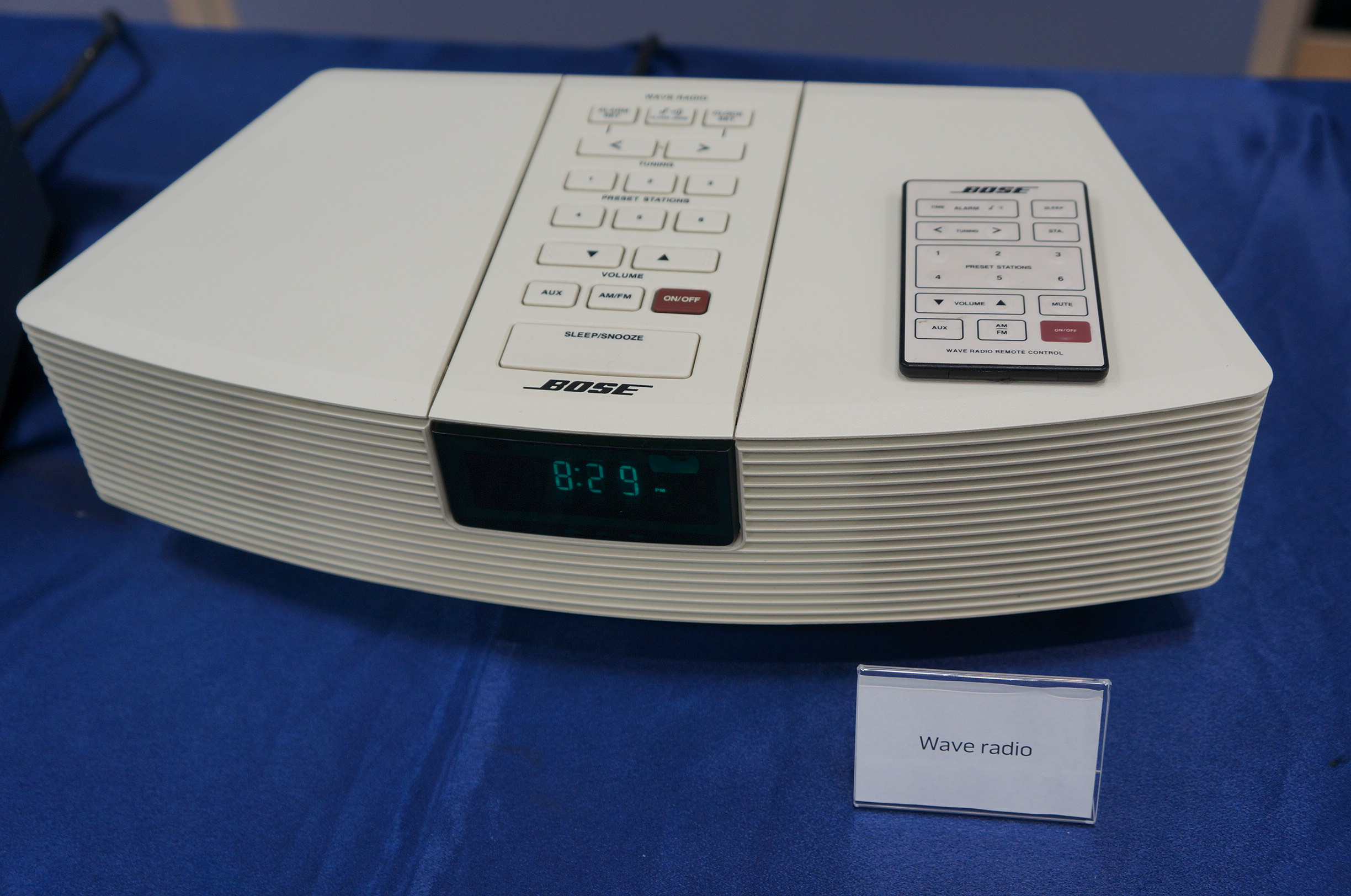 Bose wave radio