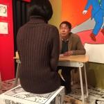 なんと、蛭子さんに似顔絵を描いてもらった! 新春 えびすリアリズム ~蛭子さんの展覧会~。日めくりカレンダーもオススメです。