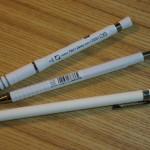 iPad Pro 9.7 物語 その6 Apple Pencil 開封の儀。話題のゼブラ製クリップを装着!