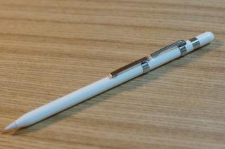 Apple Pencil にオススメのクリップ。ステッドラーもイケてます!