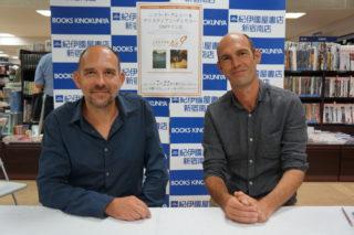 六本木のルーヴルNo.9関連のサイン会イベント@紀伊國屋に参加!直筆イラストも!