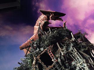 『大都市に迫る 空想脅威展』@六本木ヒルズ に行ってきた!撮影可能なのでガメラを撮りにカメラを・・おっとオヤジギャグがつい・・