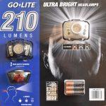 コストコで購入したヘッドランプ GO-LITE 210 が結構便利だった!
