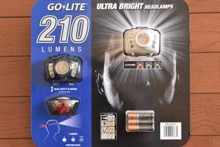 コストコで購入したヘッドランプ GO-LITE 210 が大掃除に結構便利だった!