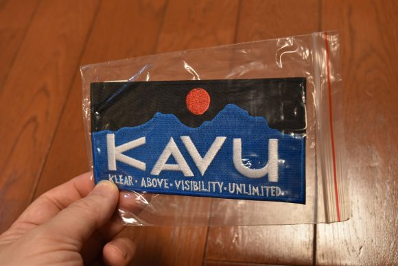 KAVUワッペン