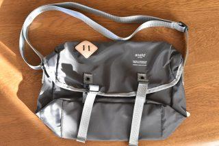 アネロのナイロンメッセンジャーバッグSを購入。ナイロン素材でコスパ最高!結構いいですよ!