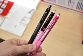 三菱鉛筆から消せるゲルインクボールペンが出た!uni-ball R:E(アールイー)登場!