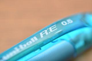 uni-ball R:E (ユニボール アールイー)購入しました。消せるボールペン対決!フリクションとはちょっと違いますね。