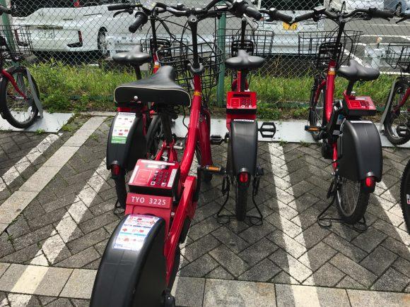 レンタサイクル 東京テレポートのポート