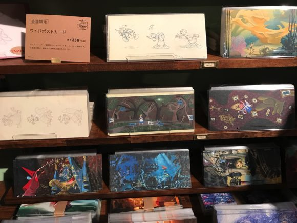 ディズニーアート展 グッズ ポストカード