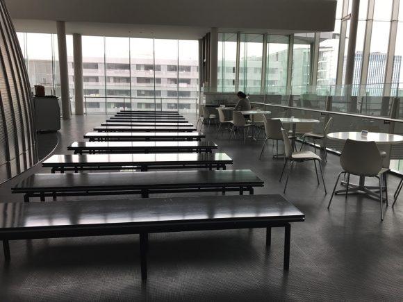 日本科学未来館 食事の持ち込みスペース