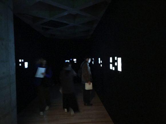 坂本龍一 設置音楽展 ワタリウム美術館 volume 会場