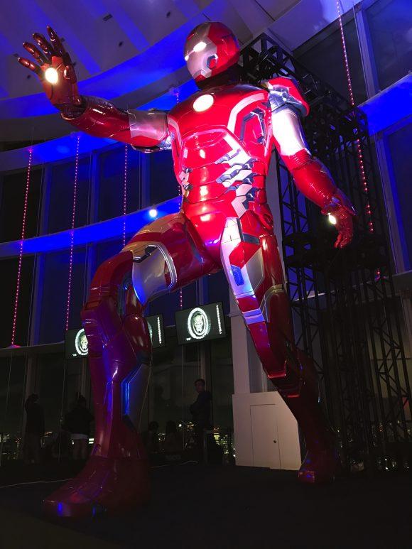 夜の 5m アイアンマン