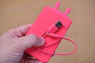 ROMOSS Lovely elf、うさぎデザインが可愛いモバイルバッテリー!