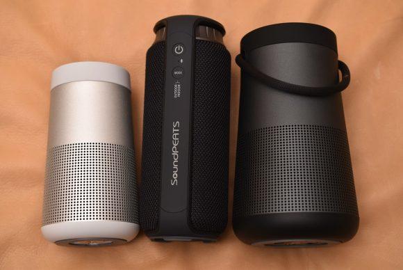 SoundPEATS P5 and Bose