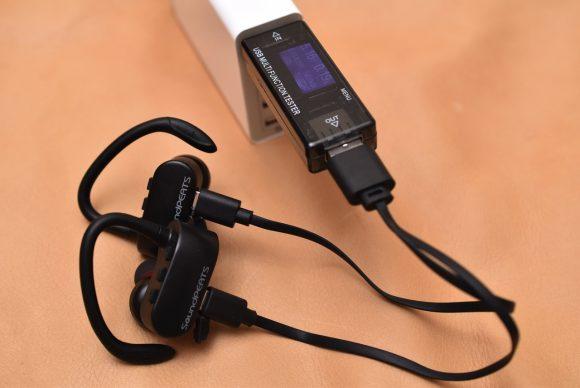 SoundPEATS Q16 充電