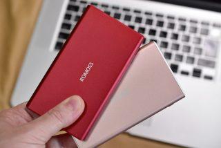 デザインにコダワリあり!ROMOSS GT3 モバイルバッテリー!