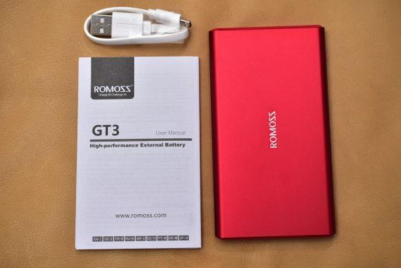 ROMOSS GT3 内容物