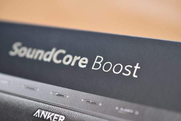 Anker SoundCore Boost 外箱ロゴ
