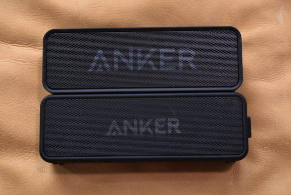 Anker SoundCore 2 正面比較