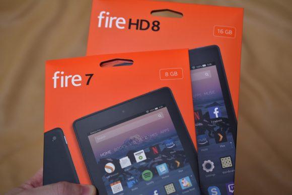 Fire7とFireHD8