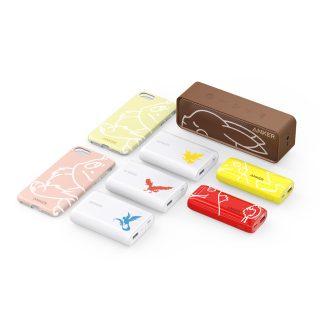 """Anker から ポケモンデザインの8 製品が販売される!""""SoundCore  ピカチュウ""""も!"""
