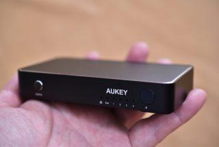 AUKEYの4K対応 4入力HDMIセレクターの質感が最強!そして便利なピクチャーインピクチャー(PIP)機能あり!