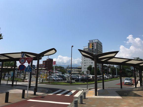三島駅北口風景