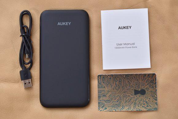 AUKEY PB-N51 内容物一式