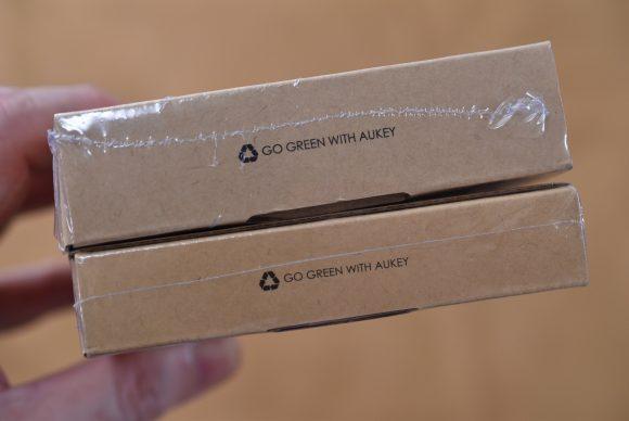 AUKEY PB-N50、PB-N51 外箱比較写真2