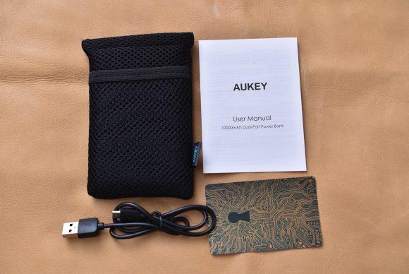 AUKEY PB-N50 内容物一式