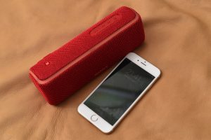 SONY SRS-XB21とiPhone