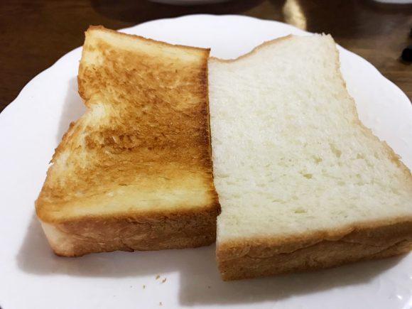 乃が美 高級「生」食パン トーストと生