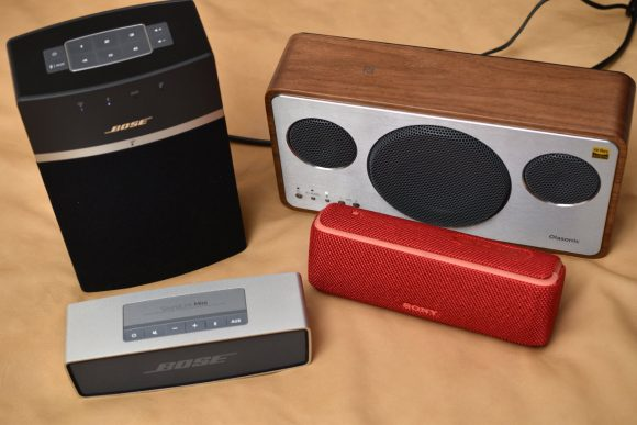 Olasonic IA-BT7 とSony、Bose製品