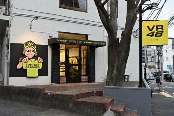 VR46 Store Tokyo