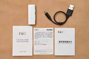 FiiO-MBTR-3 同梱物