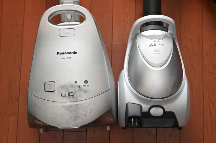 パナソニックと三菱の掃除機比較