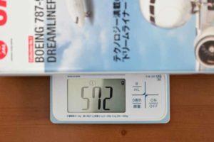 JAL旅客機コレクション創刊号重量