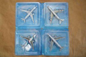 JAL旅客機コレクション1から4号モデルパック