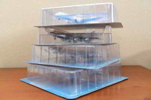 JAL旅客機コレクション1から4号モデルパック積み上げ