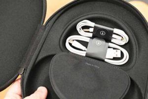 Bose Noise Cancelling Headphones 700 キャリングケースの物入れ