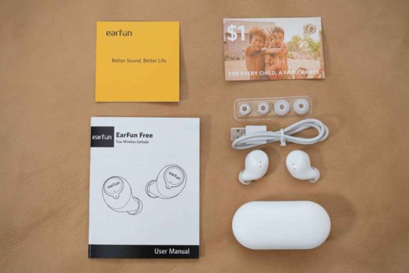 【2020最新進化版】 EarFun Free の同梱品