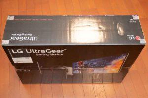 LGモニター27GL850-B外箱