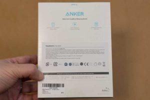 「Anker PowerPort III 3-Port 65W」パッケージ裏側