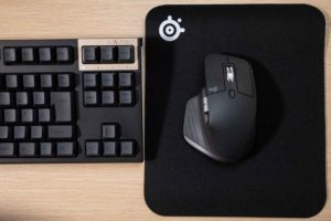 SteelSeries QcK マウスパッドの使用状況