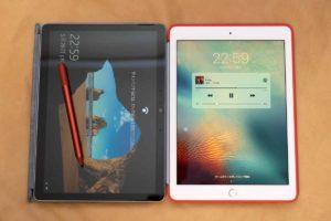 「Surface Go 2」と 9.7インチ ipad