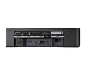 「Bose TV Speaker」背面