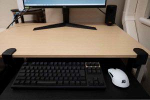 サンワ ノートパソコンスライダー 利用例