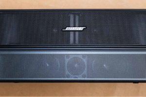 Bose TV Speaker と Solo 5の比較(スピーカー部)